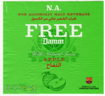 Damm Apple Free