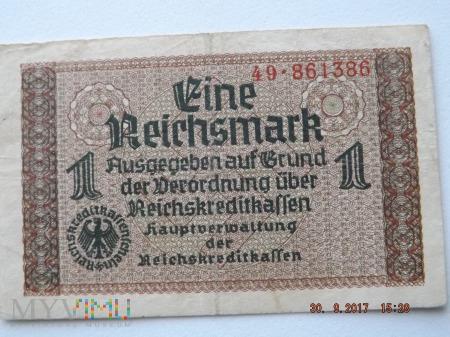Eine Reichsmark - 1940r.