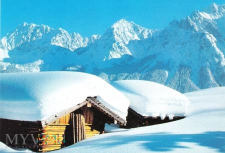 Zima w Karwendel