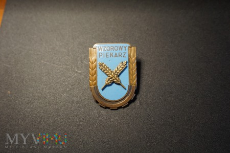 Odznaka Wzorowy Piekarz - wzór z 1951r