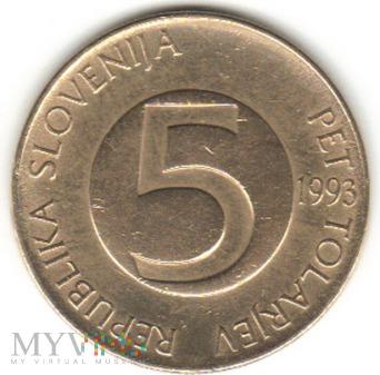5 TOLARJEV 1993