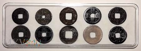 Monety Dalekiego Wschodu - diorama