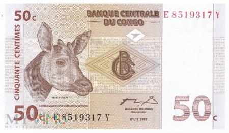 D.R. Konga - 50 centymów (1997)