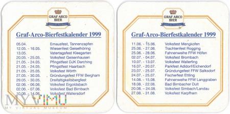 Graf Arco Bierfestkalender 1999