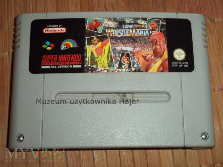 Super WrestleMania  - gra SNES Nintendo