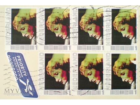 Marlene Dietrich znaczek personalizowany HOLANDIA