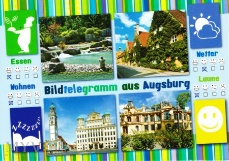 Bildtelegramm aus Augsburg