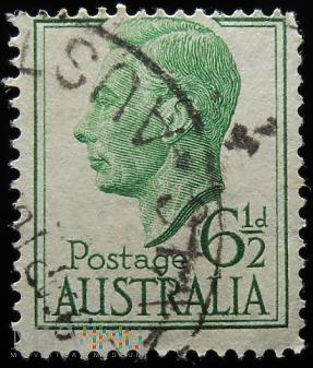 Australia 6 1/2d Jerzy VI