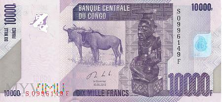Duże zdjęcie D.R. Konga - 10 000 franków (2013)