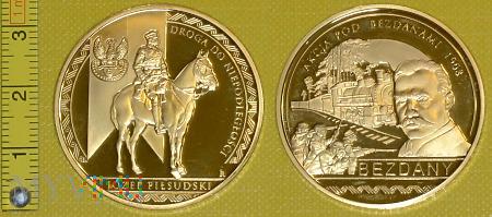 Medal kolejowy - wojskowy Akcji pod Bezdanami