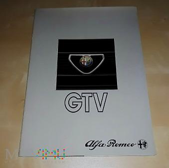 Duże zdjęcie Prospekt Alfa Romeo GTV 1983