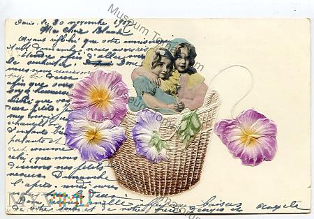 Pocztówka artystyczna - 1907