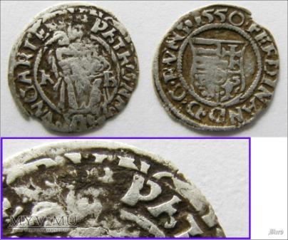 Denar - Ferdynand I Habsburg
