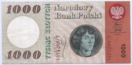 1000 złotych - 1965.