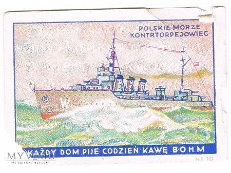 Bohm - 4x10 - Kontrtorpedowiec