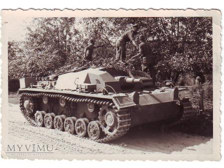 Duże zdjęcie Maskowanie StuG III