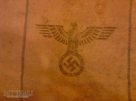 Worek na żywność wojsk lądowych Wehrmachtu 1938.