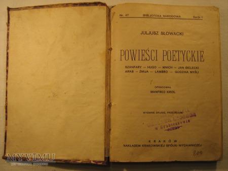 Juliusz Słowacki - Powieści Poetyckie