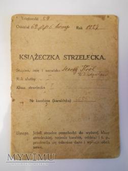 Książeczka strzelecka 69 p.p. Gniezno