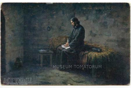 Mistrz Jan Hus w więzieniu