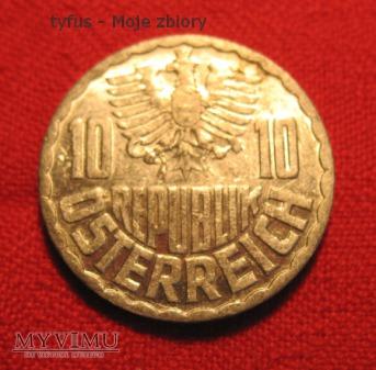10 GROSCHEN - Austria (1977)
