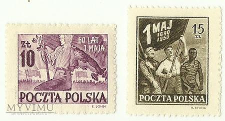 Święto 1 Maja 1950 rok.