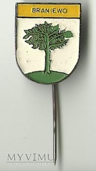 Braniewo - herb - znaczek