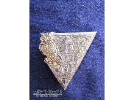 Odznaka 1CIE Localite typ I