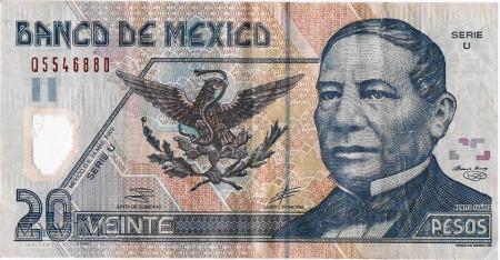 20 Pesos 2002