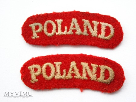 Duże zdjęcie Oznaka przynaleznosci panstwowej POLAND