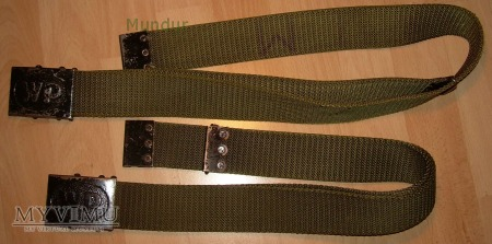 Pas zielony z taśmy poliamidowej WP