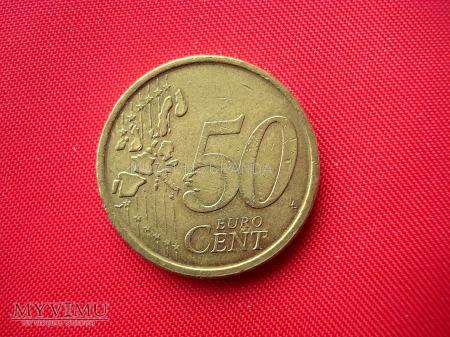 50 euro centów - Hiszpania
