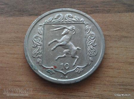 10 Pence-Isle of Man 1984