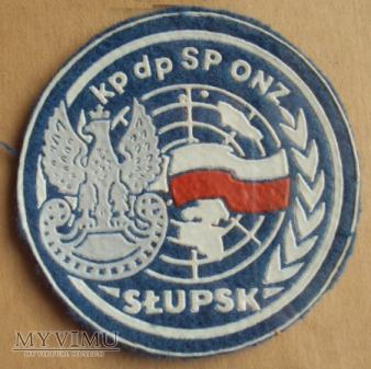 Duże zdjęcie Oznaka kp dp SP ONZ Słupsk
