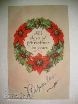 Wszelkiej radości z okazji Świąt Bożego Narodzenia