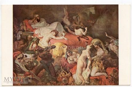 Delacroix - Śmierć Sardanapala