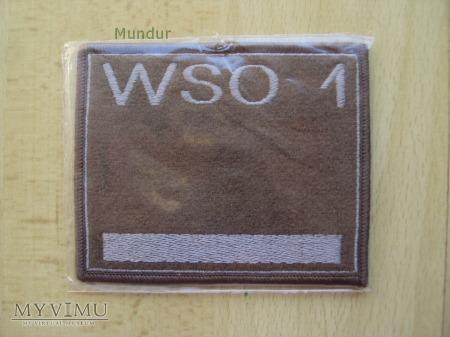 Oznaka stopnia na kurtkę - WSO 1