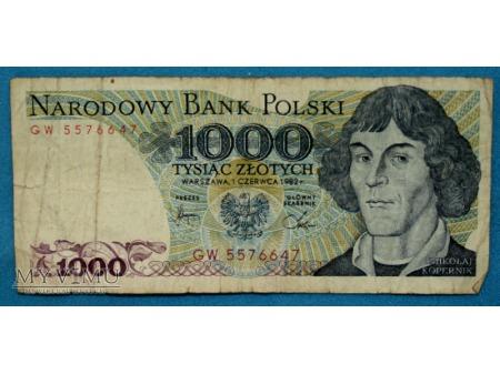1000 złotych 1988