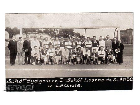 Mecz - Sokół Bydgoszcz - Sokół Leszno 1930