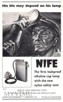 Lampa Górnicza nahełmna NIFE