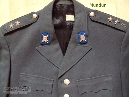 Armén uniform m/60 porucznik trangrupperna