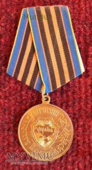 """Medal ukraiński """"Obrońcom ojczyzny"""""""