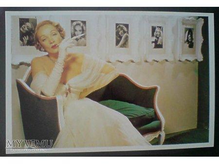 Marlene Dietrich reklama papierosów Lucky Strike