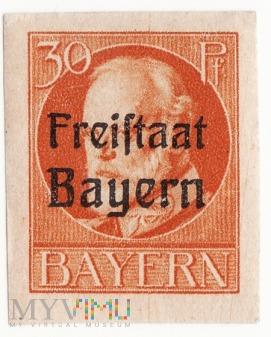 Deutches Reich Bayern Freistaat 30 r1919