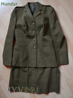 Brytyjski uniform, woman's no 2 dress army