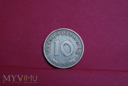10 Reichspfennig 1938