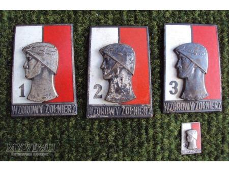 Odznaka Wzorowy Żołnierz wz.68