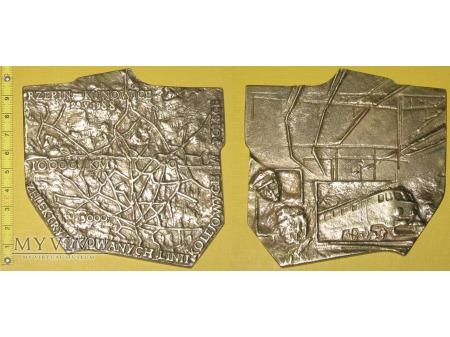 Medal kolejowy o elektryfikacji linii kolejowych