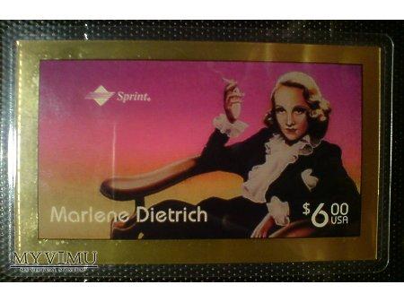 Marlene Dietrich Złota Karta Telefoniczna prepaid