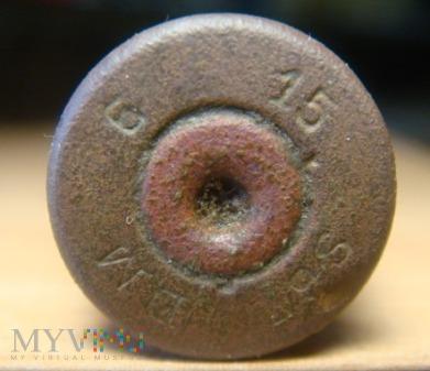 łuska Mauser 7,92x57 z roku 1915. DM